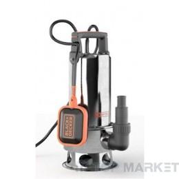 Потопяема помпа за мръсна вода BLACK&DECKER BXUP1100XDE