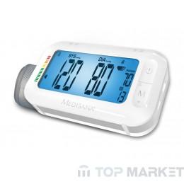 Апарат за измерване на кръвно налягане с Bluethooth и интегриран будилник при пътуване Medisana BU 575