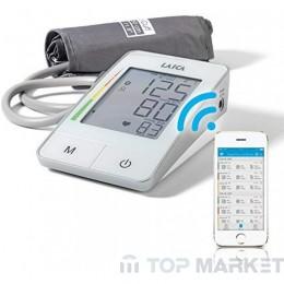 Автоматичен апарат за кръвно налягане с маншон Laica BM7002 с Bluetooth.