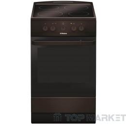 Готварска печка HANSA FCCB54000 със стъклокерамичен плот