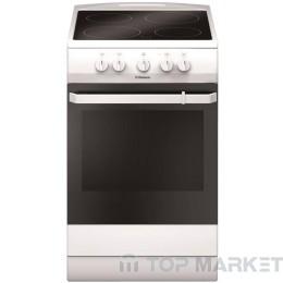 Готварска печка HANSA FCCW53009 със стъклокерамичен плот