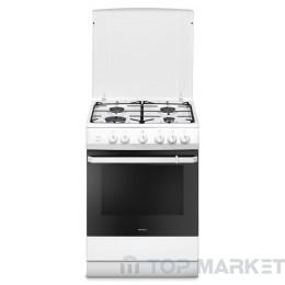 Готварска печка HANSA FCGW61109 с газов плот