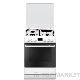 Готварска печка Hansa FCMW68209 на ток и газ