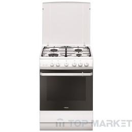 Готварска печка HANSA FCGW621109 с газов плот