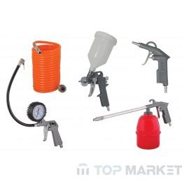 Пистолети за боя горно и за въздух 5 бр. комплект RAIDER RD-AT02