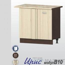 Шкаф за ъгъл и една врата Ирис B10