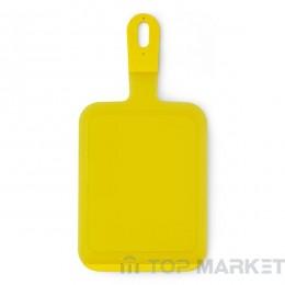 Дъска за рязане Brabantia, Yellow, 19x7x37 cm