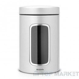 Буркан Brabantia Window 1.4 L, Metallic Grey