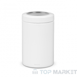 Буркан Brabantia Window Lid 1.4 L, White