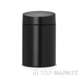 Кош за смет Slide, 5 L Brabantia Black