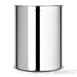 Кош за хартия, 15 L Brabantia Brilliant Steel
