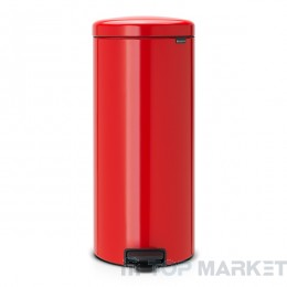 Кош с педал Brabantia NewIcon 30 L Passion Red