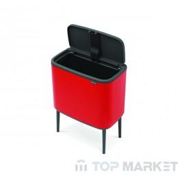 Кош Brabantia Bo Touch, 36 L Passion Red