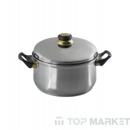 Тенджера ELEKOM  метален капак 26см