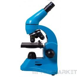 Микроскоп Rainbow Levenhuk 50L Azure
