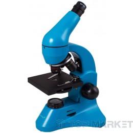 Микроскоп LEVENHUK Rainbow 50L PLUS Azure