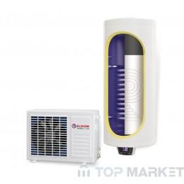 Бойлер ЕЛДОМ 72280MCS HPS,  термопомпен соларна серпентина, емайлиран