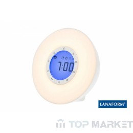 Симулатор на изгрев LANAFORM WAKE-UP LIGHT