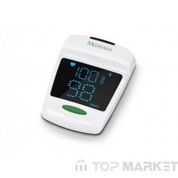 Уред за измерване нивото на кислород в кръвта и сърдечния пулс Medisana Pulse oximeter PM 150 connect