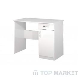 Бюро АПОЛО 1 - бяло гланц