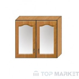 Горен шкаф OLA 80BB витрина