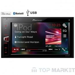 Мултимедийна система за автомобил PIONEER MVH-AV290BT + 4GB USB подарък