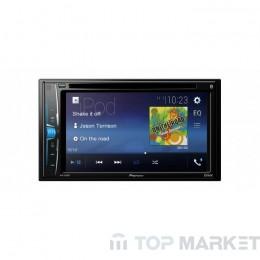 Мултимедийна система за автомобил PIONEER AVH-A200BT USB / CD / DVD с 4GB USB подарък