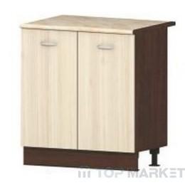 Шкаф с две врати и рафт Ирис B2