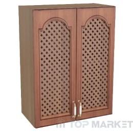 Шкаф горен В 60х72 с решетка Oreh
