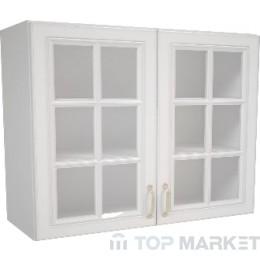 Шкаф горен В 80х72 витрина Michelle