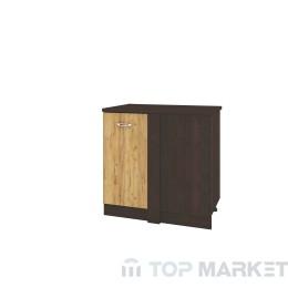 Долен ъглов шкаф City ВД-128