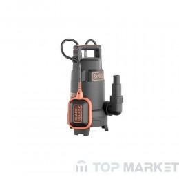 Потопяема помпа за чиста или мръсна вода BLACK&DECKER BXUP750PTE