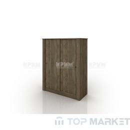 Двукрилен гардероб с плъзгащи врати City 1017