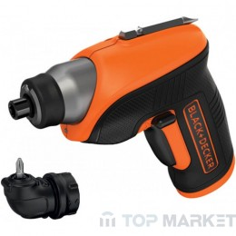 Акумулаторна отвертка BLACK&DECKER CS3652LC