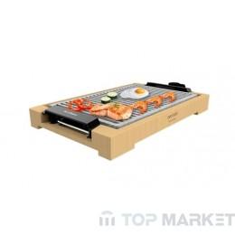Електрическа скара CECOTEC Tasty&Grill 2000 Bamboo LineStone
