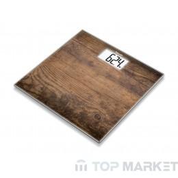 Дигитален кантар BEURER GS 203 Wood 75632_BEU