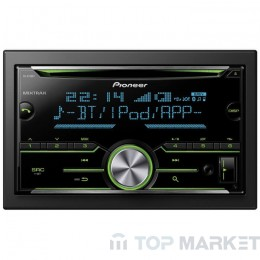 CD плейър за автомобил PIONEER FH-X730BT Двоен Дин