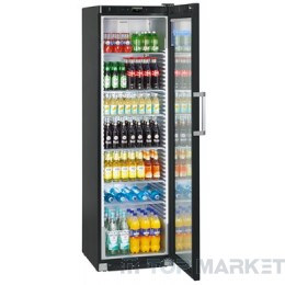 Хладилна витрина с динамично охлаждане и рекламен дисплей LIEBHERR FKDv 4523