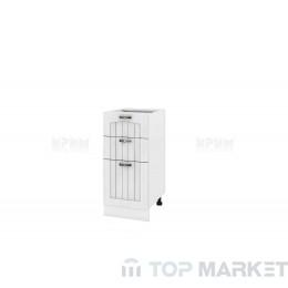Шкаф с 2 чекмеджета и врата Сити БФ 04-01-27
