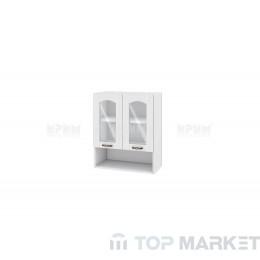 Шкаф с ниша, 2 витрини и рафт Сити БФ 04-01-09