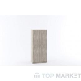 Двукрилен гардероб М 010Е