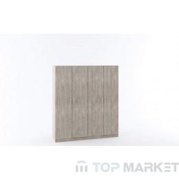 Четирикрилен гардероб М 014Е