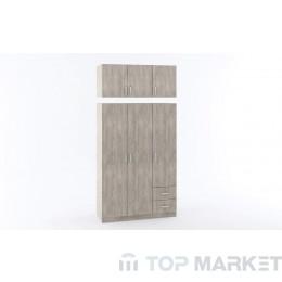 Надстройка за трикрилен гардероб М 017Е