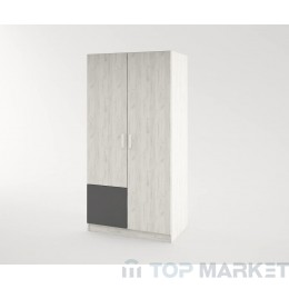 Двукрилен гардероб Urban M1