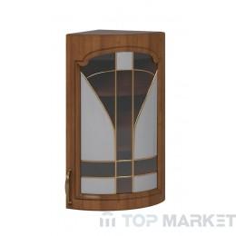 Шкаф горен В 30x72 заоблен витрина Oreh
