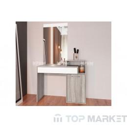 Тоалетка с огледало City 3046
