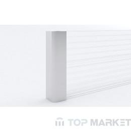 PVC ъгъл за цокъл M26