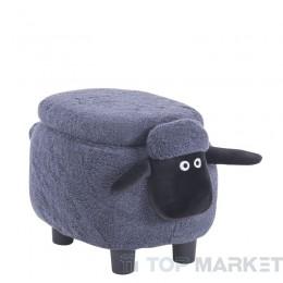 Детска табуретка с ракла Овца