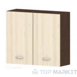 Горен шкаф с две врати Ирис G13