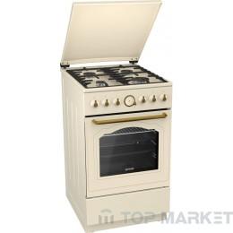Газова готварска печка с газова фурна GORENJE GI52CLI